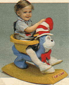 Cat in the Hat Rocker From The 1980s