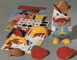 Colorforms Kid From The 1980s