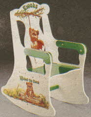 Ewoks Rocking Chair From The 1980s