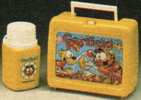 Garfield Lunch Kit From The 1980s