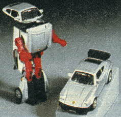 GoBot Baron von Joy, Friendly Robot Sports Car From The 1980s