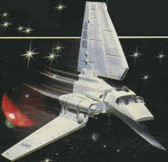 Imperial Shuttle Star Wars Toy From The 1980s