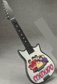 Official Menudo Rock Guitar From The 1980s