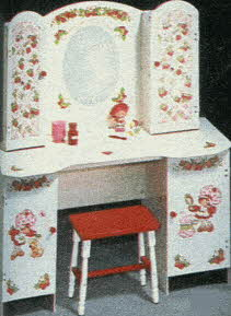 Strawberry Shortcake Vanity From The 1980s