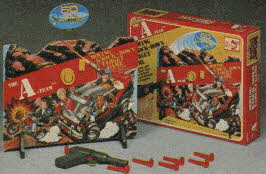 The A-Team Moving Target Game From The 1980s