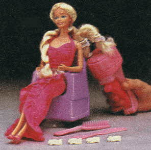 Twirly Curls Barbie From The 1980s