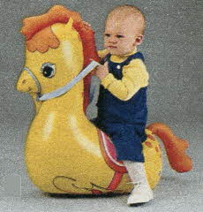Bouncing Pony From The 1980s
