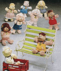 Cabbage Patch Koosas From The 1980s