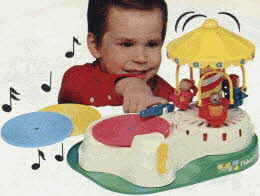 Fisher Price Change-a-Tune Carousel From The 1980s