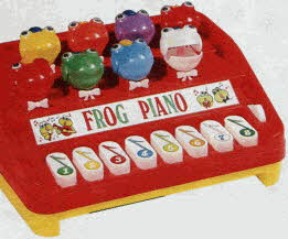 Frog Piano From The 1980s