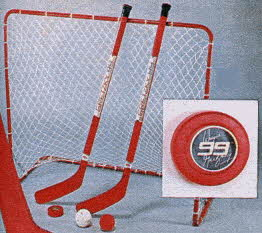 The Gretzky 99 Hockey Set From The 1980s