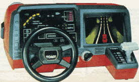 Turnin' Turbo Dashboard From The 1980s