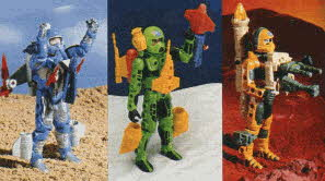 Centurions Action Figures From The 1980s
