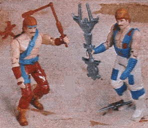 Chuck Norris Action Figures From The 1980s