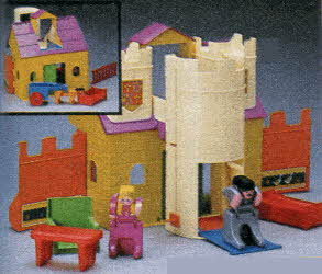 DoubleDooz Castle Set From The 1980s