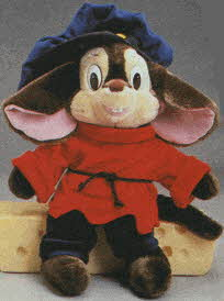 Fievel Plush From The 1980s