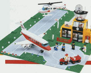 Lego Airport From The 1980s