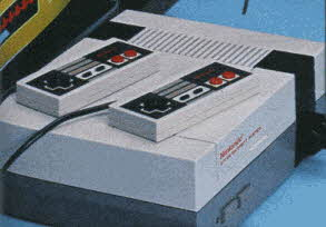 Nintendo Entertainment System From The 1980s