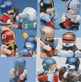 NFL Huddles From The 1980s