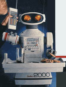 Omnibot 2000 vintage mid 80s electronic