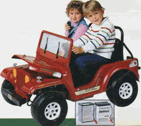 Power Wheels Jeep From The 1980s