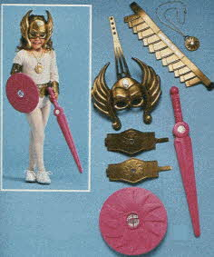 She-Ra Princess of Power Costume Set From The 1980s