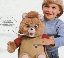 Teddy Ruxpin From The 1980s