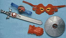 Thundercats Costume Set From The 1980s