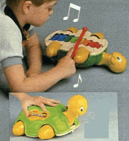 Turtle Xylophone From The 1980s