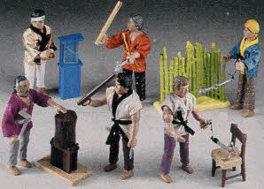 1980s Karate Kid Action Figures
