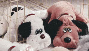 Vintage Pound Puppies from the late 80s