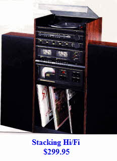 Stacking Stereo System from the late 1980's