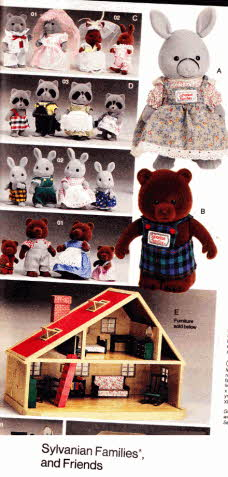 Sylvanian Family and Friends