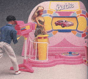 Barbie TV Game Show Set