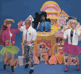 Barbie's Dancetime Shop From The 1980s
