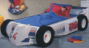 Car Bed From The 1980s
