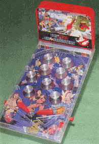 The Real Ghostbusters Table-top Pinball From The 1980s