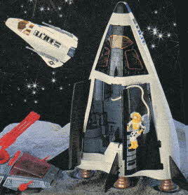 G.I. Joe Crusader Space Shuttle From The 1980s