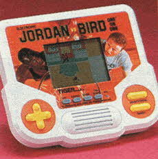 Jordan Vs. Bird Handheld Game From The 1980s