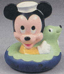 Mickey Color Change Bath  From The 1980s