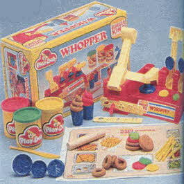 Play-Doh Whopper Kit From The 1980s
