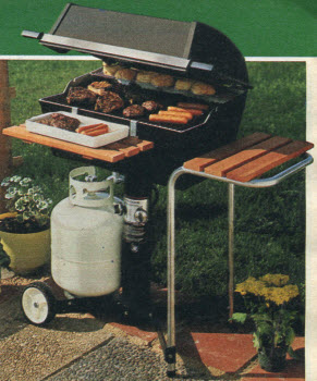 1982 Outdoor Gas Grill