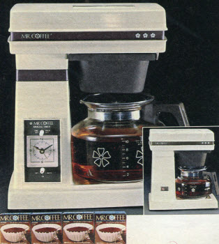 1985 Mr. Coffee Machine