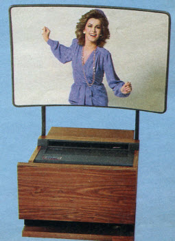 1985 Projection Screen TV