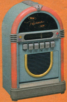 1988 Jukebox Cassette Player