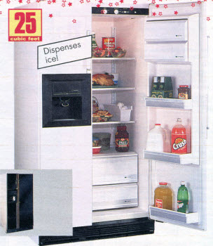 1989 Refrigerator with Ice Dispenser