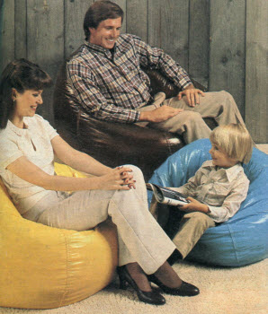 1981 Bean Bag Chairs