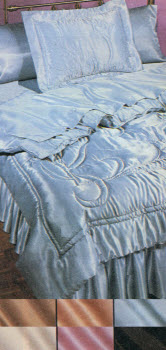 1983 Satin Bedding