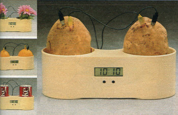 1985 LCD Two Potato Clock