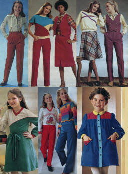 1980s Children's Fashion Part of Our Eighties Fashions Section